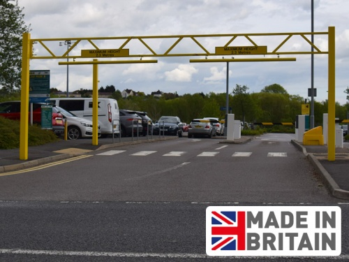 Heavy Duty Fixed Height Barrier (3Ð9m widths)