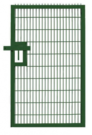 Twin Mesh Pedestrian Gate