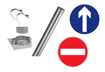 Signage Kit (2 x Signs, 1 Post)