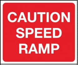 Caution Speed Ramp