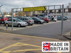 Economy Double Leaf Height Barrier (6Ð12m widths)